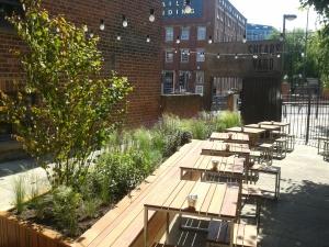 Gardens : Design Portfolio: Shears Yard, Leeds: After