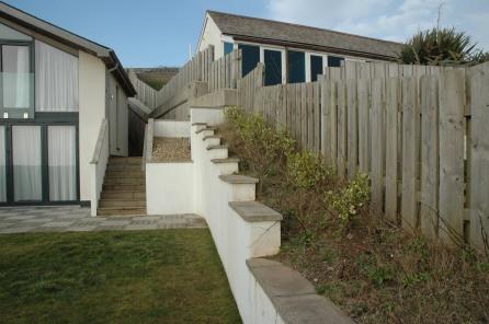 Austin's Gardens : Design Portfolio: Bigbury-on-Sea: Before
