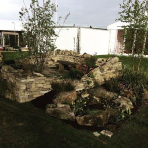 Gold Award for Professional Gardens, Newby Hall Prize for Planting, Out of Yorkshire, Harrogate Flower Show, Spring 2017